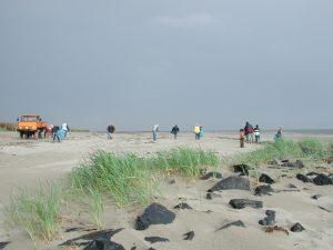 Strandjutters op Ameland