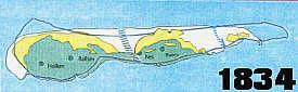 Ameland in 1834
