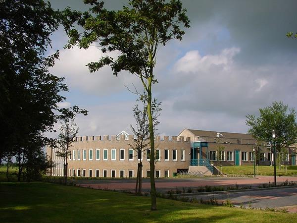Gemeenthehuis van Aameland in Ballum